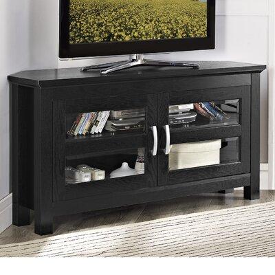 Jackson Wood Corner TV Stand