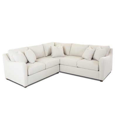 Buono Sectional Upholstery: Amigo Linen, Orientation: Right Hand Facing