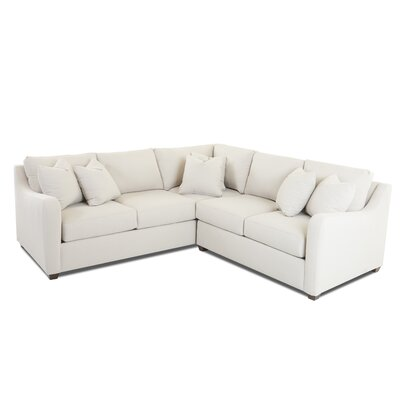 Buono Sectional Upholstery: Oakley Ivory, Orientation: Right Hand Facing