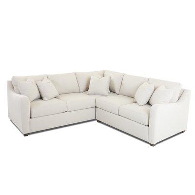 Buono Sectional Upholstery: Oakley Ivory, Orientation: Right Hand Facing