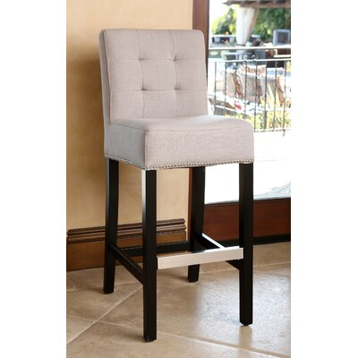 Bridgeton 30 Bar Stool Upholstery: Beige