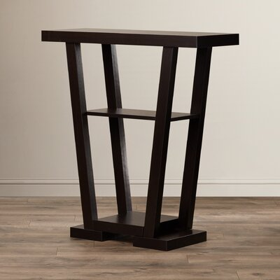 Grovetown Console Table Finish: Espresso