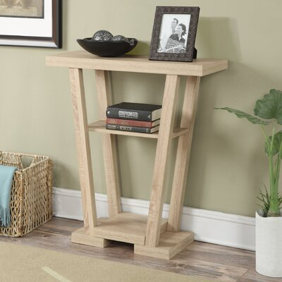 Grovetown Console Table Finish: Weathered White