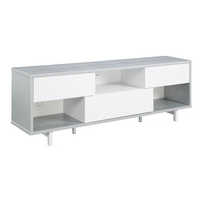 Grovetown TV Stand Color: Weathered Gray