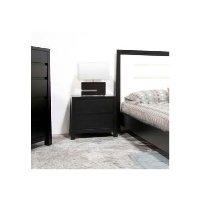 Emory 2 Drawer Nightstand