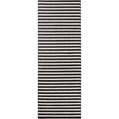 Greer Black/Cream Area Rug
