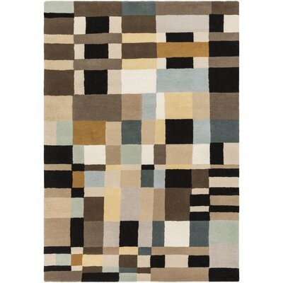 Mcclure Hand-Tufted Geometric Area Rug Rug Size: Rectangle 2 x 3
