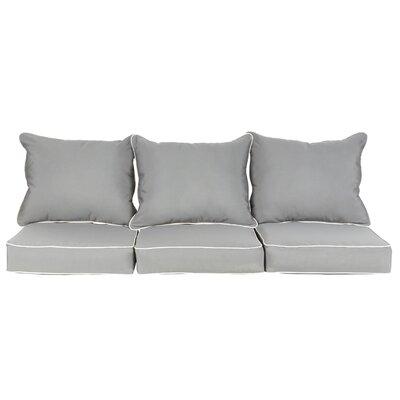 Feldspar 6 Piece Sunbrella Loveseat/Sofa Cushion Set
