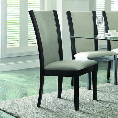 Dycus Side Chair (Set of 2) Side Chair Upholstery: Beige