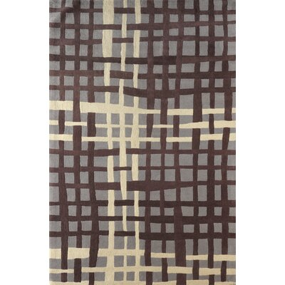 Courtney Hand-Tufted Dark Iris Area Rug Rug Size: 5 x 8