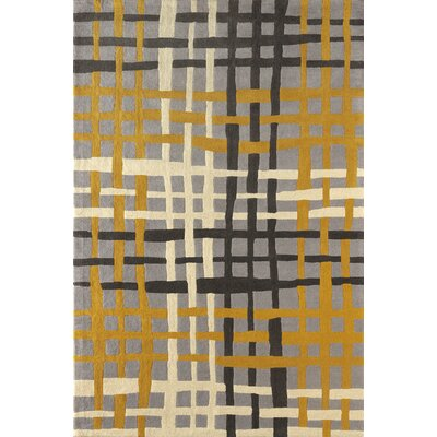Courtney Hand-Tufted Horseradish Area Rug Rug Size: 6 x 9