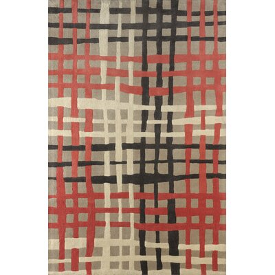 Courtney Hand Tufted Sorbet Area Rug Rug Size: 4 x 6
