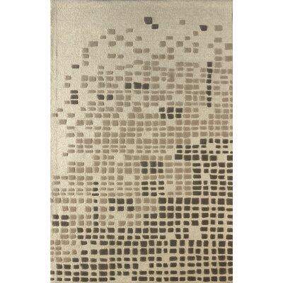 Clara Hand Tufted Soot Area Rug Rug Size: 6 x 9