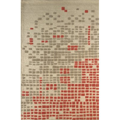Clara Hand Tufted Sorbet Area Rug Rug Size: 4 x 6