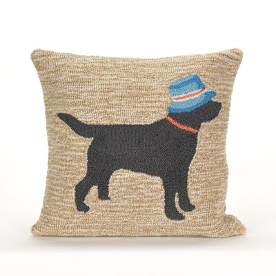 Shauna Vacation Dog Indoor/Outdoor Throw Pillow