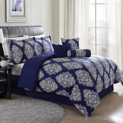 Lyle 7 Piece Comforter Set Size: King