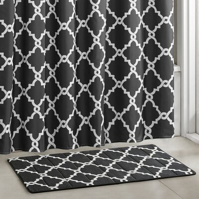 Alta Bath Rugs Size: 20 W x 30 L, Color: Black