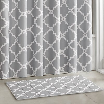 Alta Bath Rugs Size: 24 W x 58 L, Color: Gray