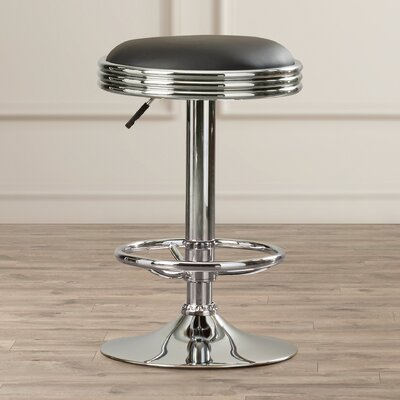 Dora Adjustable Height Swivel Bar Stool