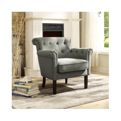 Kelvin Armchair Upholstery: Gray