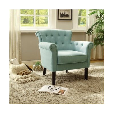 Kelvin Arm Chair Upholstery: Teal