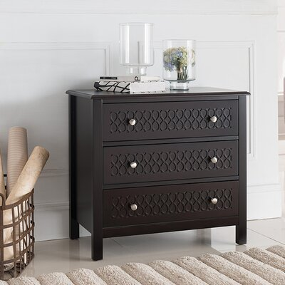 Siebert Wood Drawer Console Table