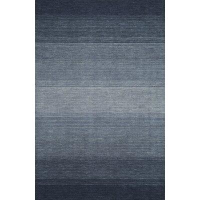Louisa Navy Area Rug Rug Size: 79 x 99