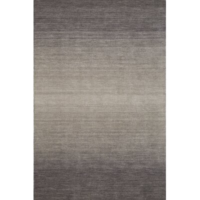 Louisa Hand Woven Wool Ash Area Rug Rug Size: Rectangle 79 x 99