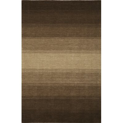 Louisa Chocolate Area Rug Rug Size: 79 x 99