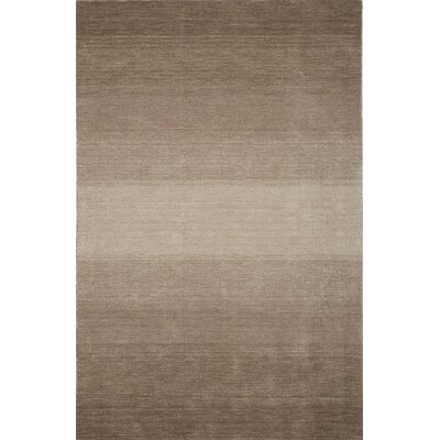 Louisa Taupe Area Rug Rug Size: Rectangle 5 x 73