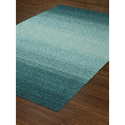 Louisa Teal Area Rug Rug Size: Rectangle 79 x 99