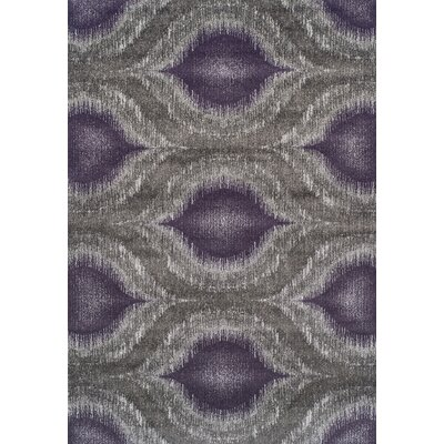 Ventnor Plum Area Rug Rug Size: Rectangle 53 x 77