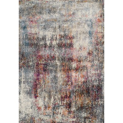 Allegra Multi Area Rug Rug Size: Rectangle 53 x 77