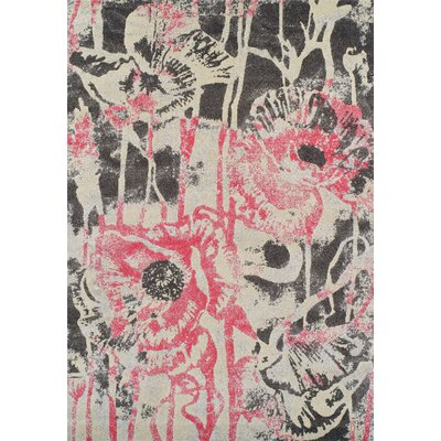 Ventnor Blush Area Rug Rug Size: 33 x 51