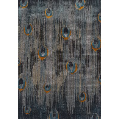 Allegra Gray Area Rug Rug Size: Rectangle 710 x 107