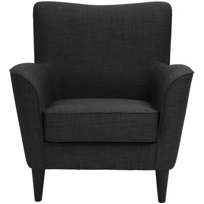 Milperra Armchair Upholstery: Charcoal