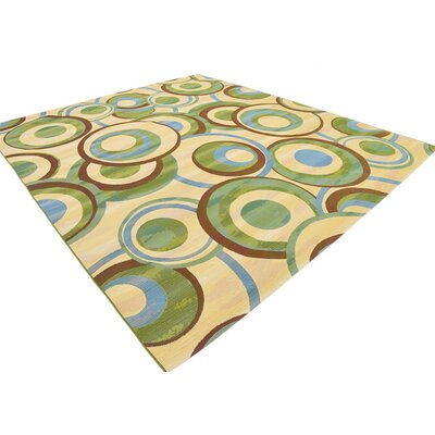 Skylar Beige Indoor/ Outdoor Area Rug Rug Size: Rectangle 10 x 12