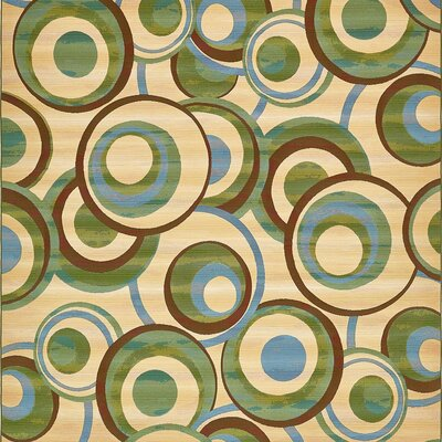 Skylar Beige Indoor/Outdoor Area Rug