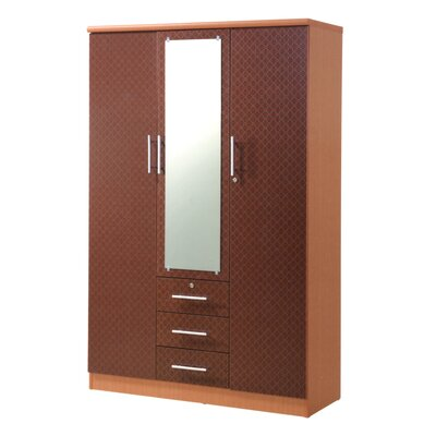 Rasmussen 3 Door Armoire Finish: Cherry