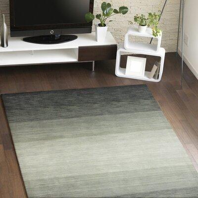 Kimberley Hand-Woven Charcoal Area Rug Rug Size: 8'6