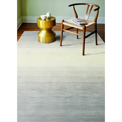 Kimberley Hand-Loomed Slate Area Rug Rug Size: 86 x 116