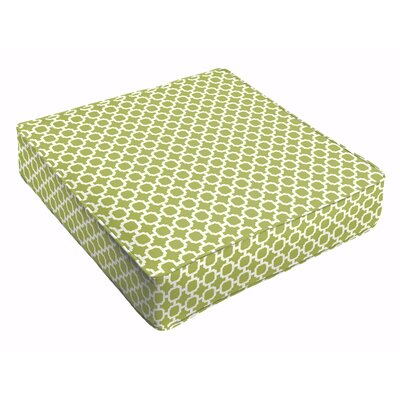 Samantha Outdoor Cushion Fabric: Pear Green