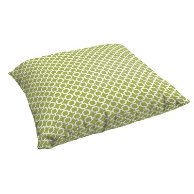 Samantha Polyester Euro Pillow Color: Pear Green