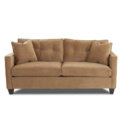 Loganne Sofa Upholstery: Nina Coffee
