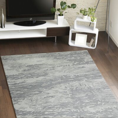 Andy Hand-Tufted Area Rug Rug Size: 86 x 116
