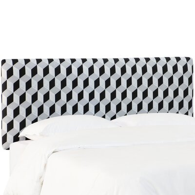 Pascoe Linen Upholstered Panel Headboard Size: Queen