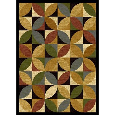 Jordan Brown Area Rug Rug Size: 5 x 8