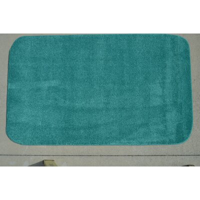 Makenna Mermaid Teal Area Rug Rug Size: 5 x 8