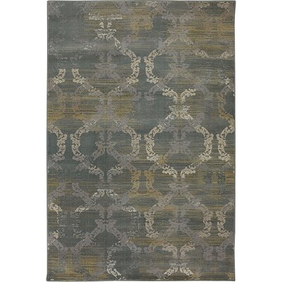 Cheap Ramona Moss Gray Area Rug Rug Size 5 x 8  for sale