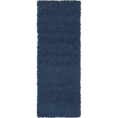 Kyoto Navy Blue Area Rug